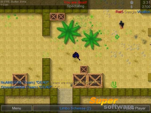 Скриншот Counter-Strike 2D 0.1.2.6 Beta