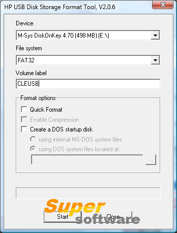 �������� HP USB Disk Storage Format Tool 2.2.3