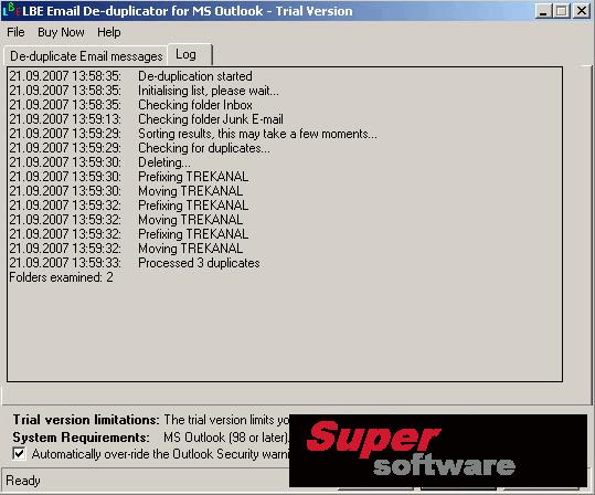 Скриншот E-Mail Duplicator 1.0.0006