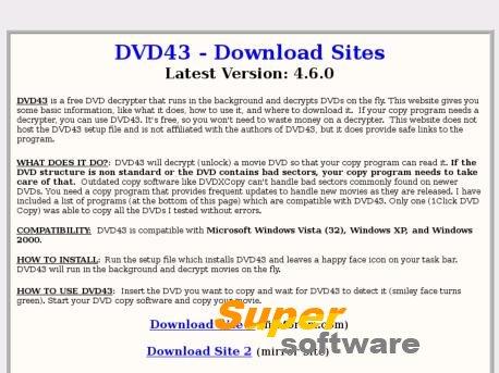 Скриншот DVD43 4.6.0