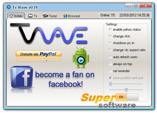 Скриншот Tv Wave 039