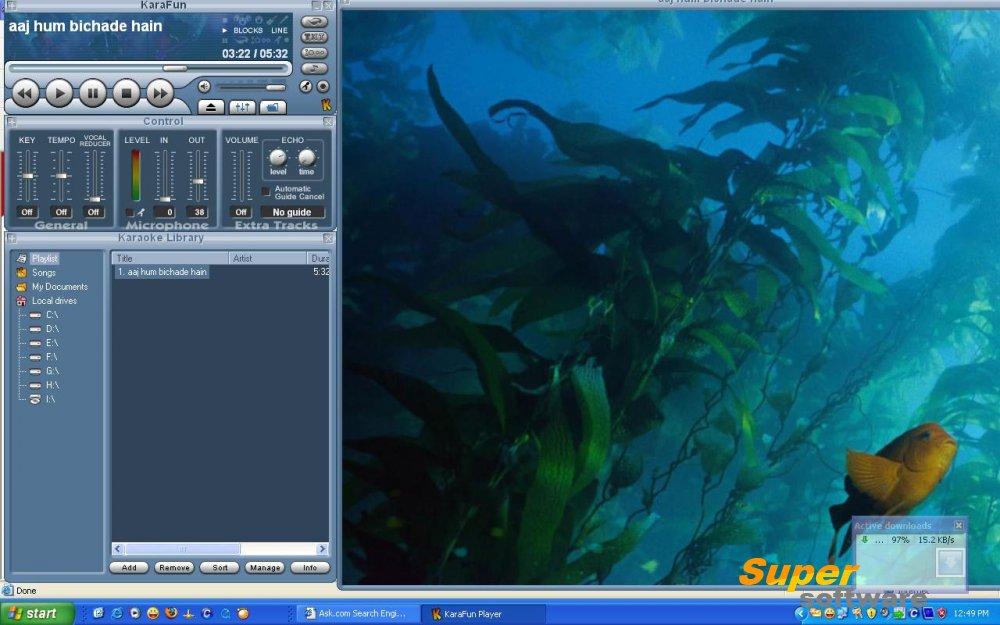 Скриншот KaraFun Player 2.4.0.0