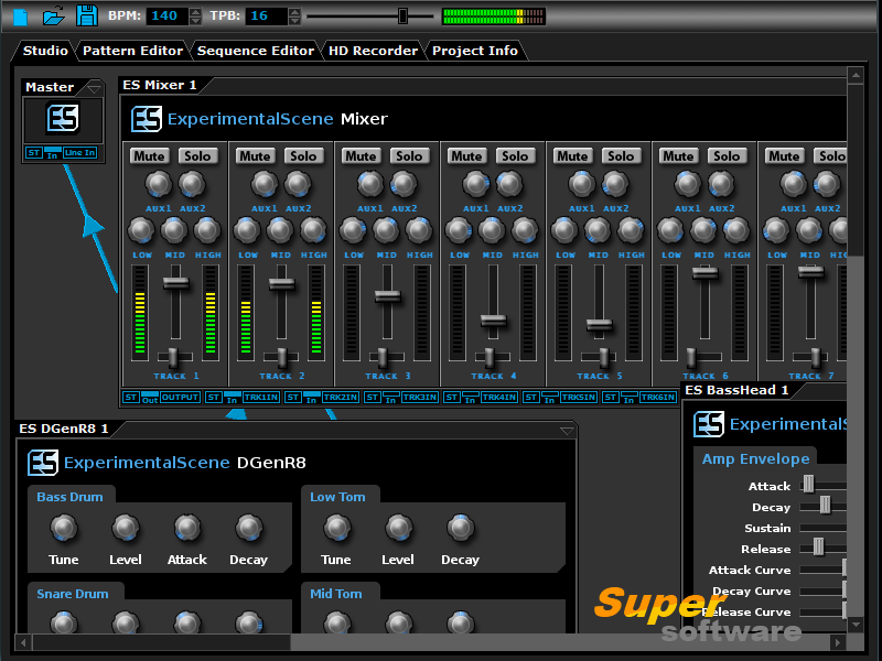 Скриншот DarkWave Studio 5.7.3