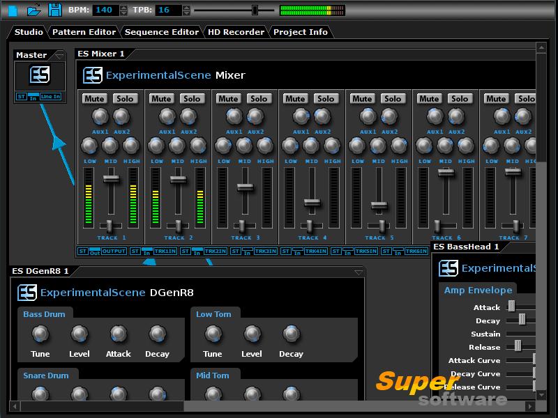 Скриншот DarkWave Studio 5.7.0
