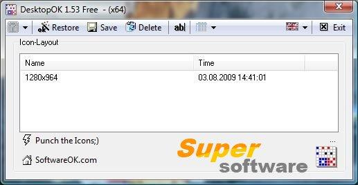 Скриншот DesktopOK 4.62