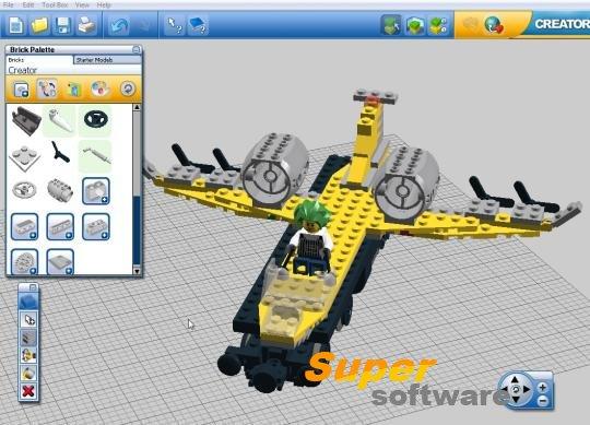 Скриншот LEGO Digital Designer 4.3.8.0