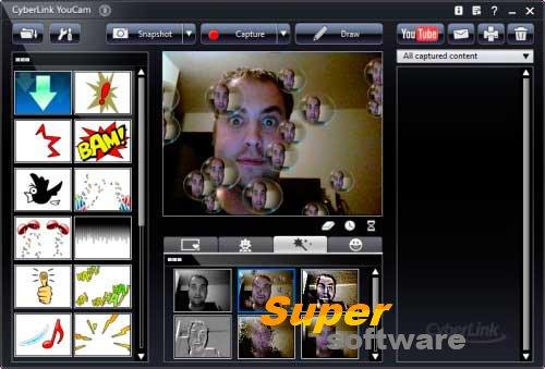 Скриншот CyberLink YouCam 7.0.2316.0