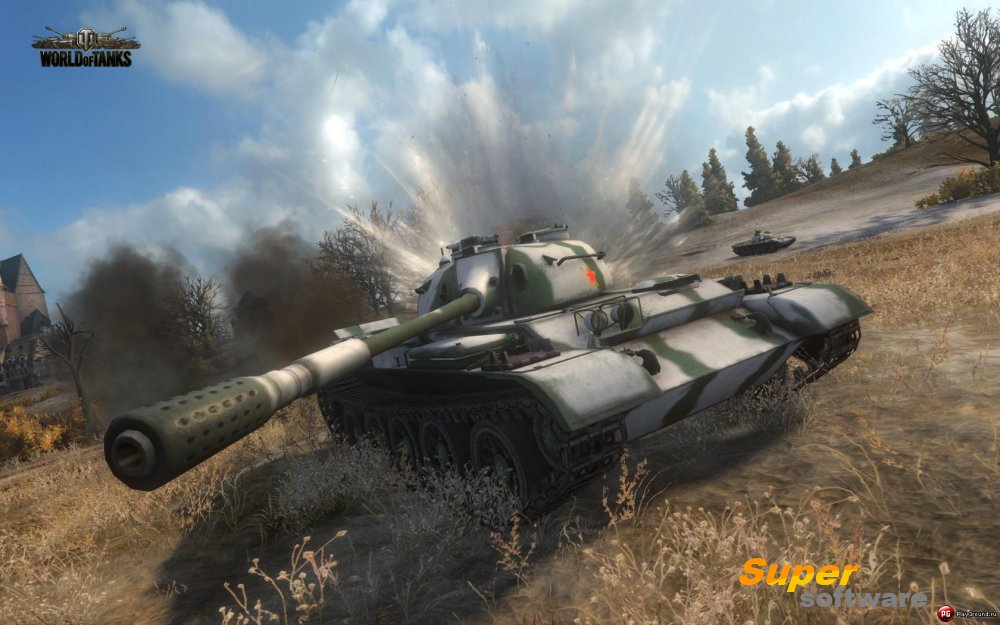 Скриншот World of Tanks 0.9.9