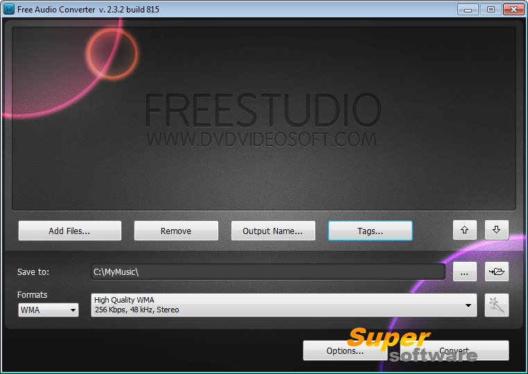�������� Free Audio Converter 5.0.98.712