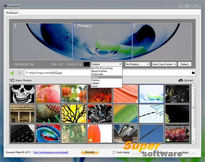 Скриншот MultiWall 1.0.19
