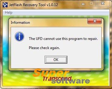 �������� JetFlash Recovery Tool 1.0.20