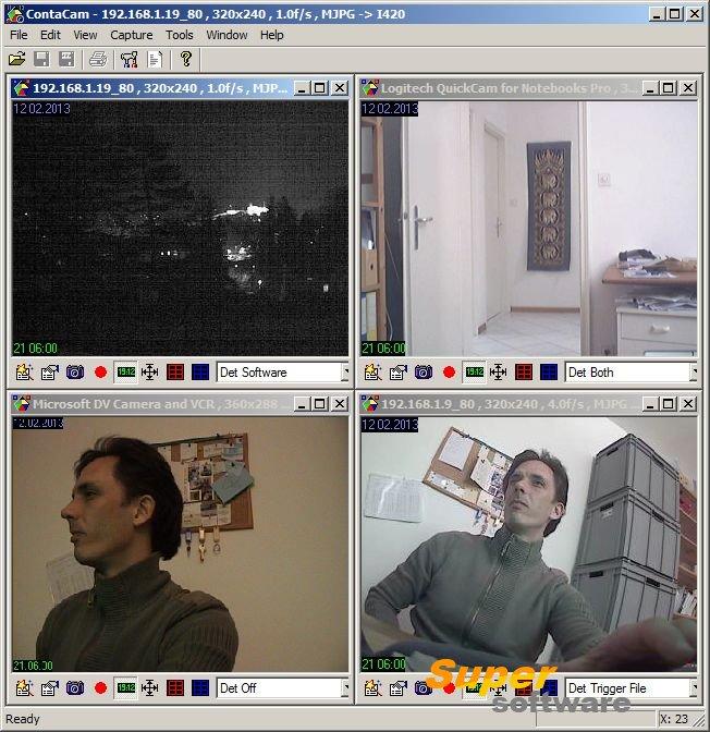 Скриншот ContaCam 7.5.0