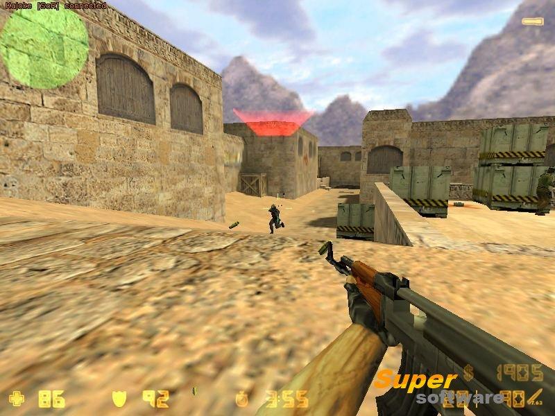 Скриншот Counter-Strike (Контр-Страйк) 1.6
