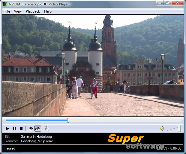 �������� NVIDIA 3D Vision Video Player 1.7.2