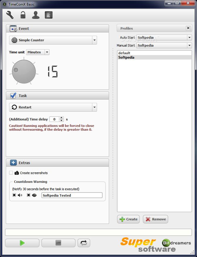 Скриншот TimeComX Basic 1.3.2.7