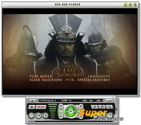 �������� AVS DVD Player 2.4.2.125