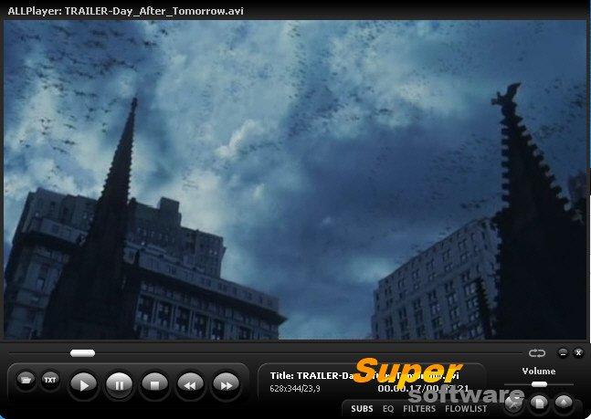 Скриншот ALLPlayer 7.2