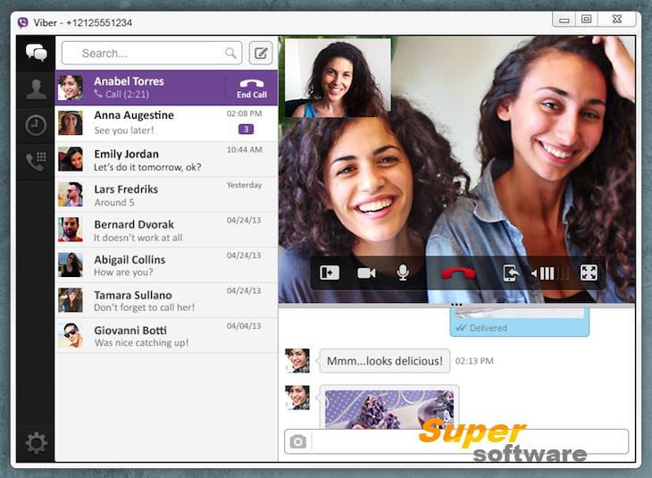 Скриншот Viber 6.9.0.1048