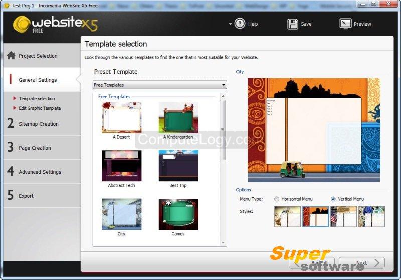 Скриншот WebSite X5 Free 10.1.0.39