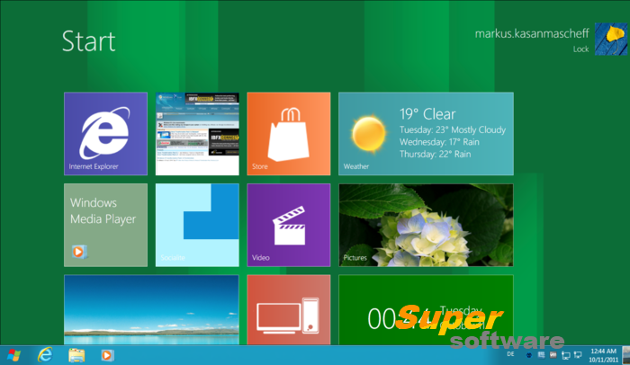 Скриншот Windows 8 Transformation Pack 9.1