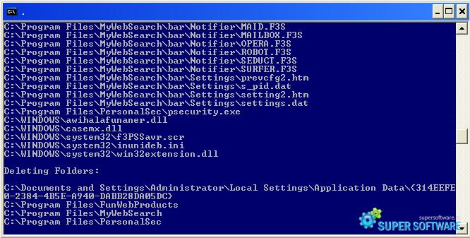 Скриншот Combofix 17-1-4.1