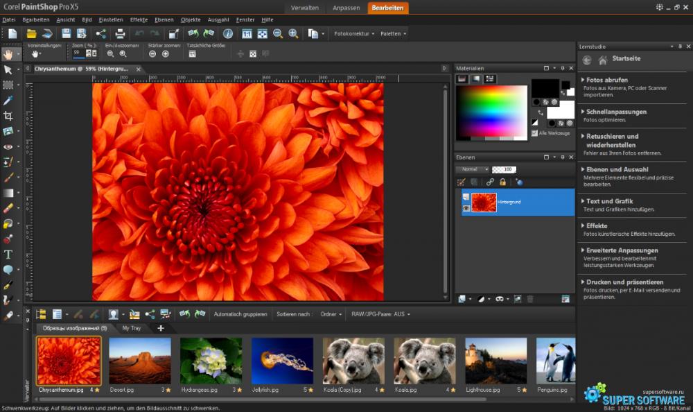 Скриншот Corel VideoStudio Pro X9 19.6.0.1