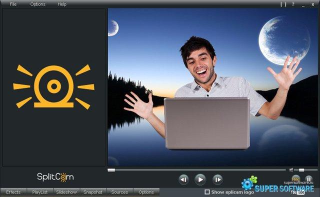 Скриншот SplitCam 7.5.3.2