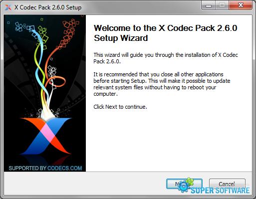 Скриншот X Codec Pack 2.7.4